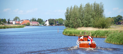 Schaluppe in Friesland